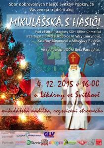 mikulaska-s-hasici-4-12-2015-u-lekarny-ve-svitkove