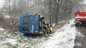 Dopravní nehoda Červený Potok