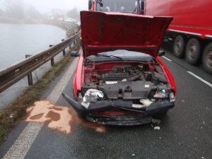 Dopravní nehoda Černožice