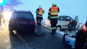 Dopravní nehoda Předhradí