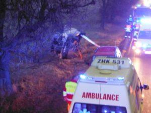 Dopravní nehoda Sadová