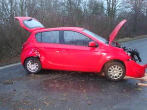 Dopravní nehoda Velká Jesenice
