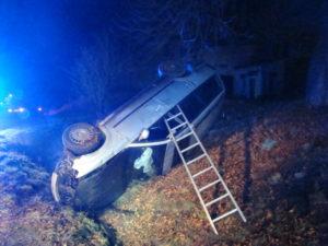 Dopravní nehoda Velký Třebeš