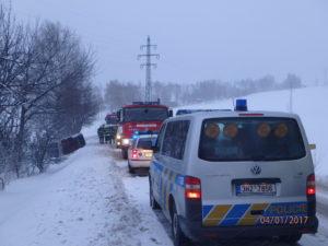 Dopravní nehoda Hajnice Výšinka