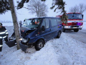 Dopravní nehoda Hradec Králové - Rusek