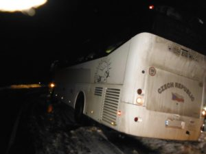Nehoda autobusu Lukavec u Hořic