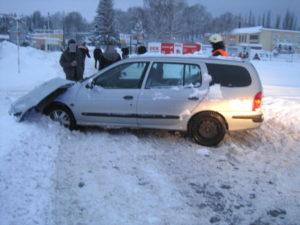 Dopravní nehoda vlaku a osobního vozu - Trutnov - Mírová