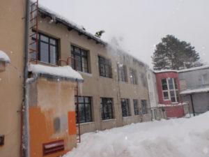 Odklízení sněhu - Nová Paka