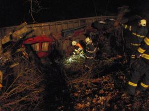 Dopravní nehoda Dolní Kalná - 28.2.2017