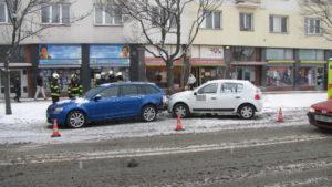Dopravní nehoda Pospíšilova