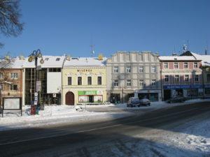 Město Žamberk - Masarykovo náměstí