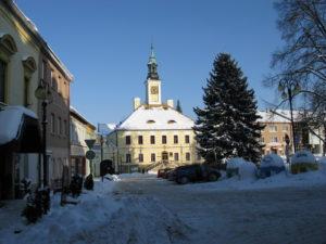 Město Žamberk - Masarykovo náměstí - budova radnice