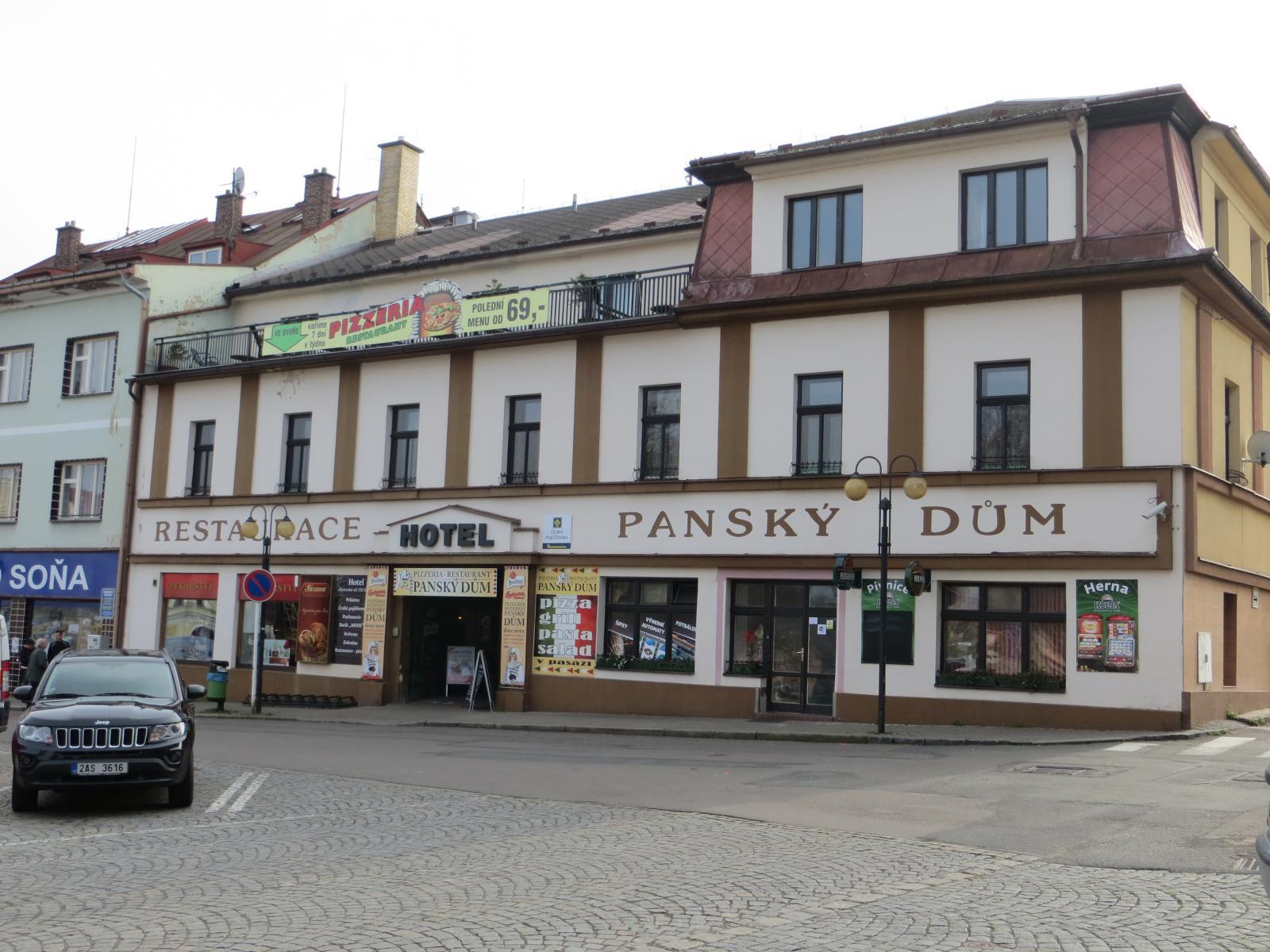 Hotel Panský dům - Žamberk