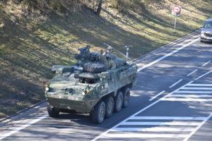 Konvoj Americké armády přes východní Čechy - 26.3.2017 - Foto Josef Voltr