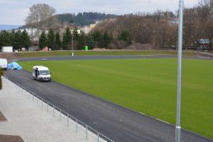 Rekonstrukce stadionu Hamry - Foto Josef Voltr