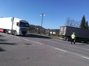 Kontroly objízdných tras kvůli rekonstrukci I/33