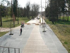Tyršovy sady Pardubice - duben 2017