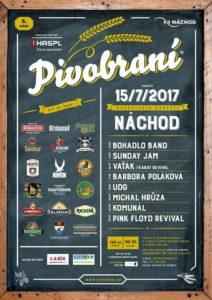 pivobraní-15-7-2017-nachod-masarykovo-namesti-plakat