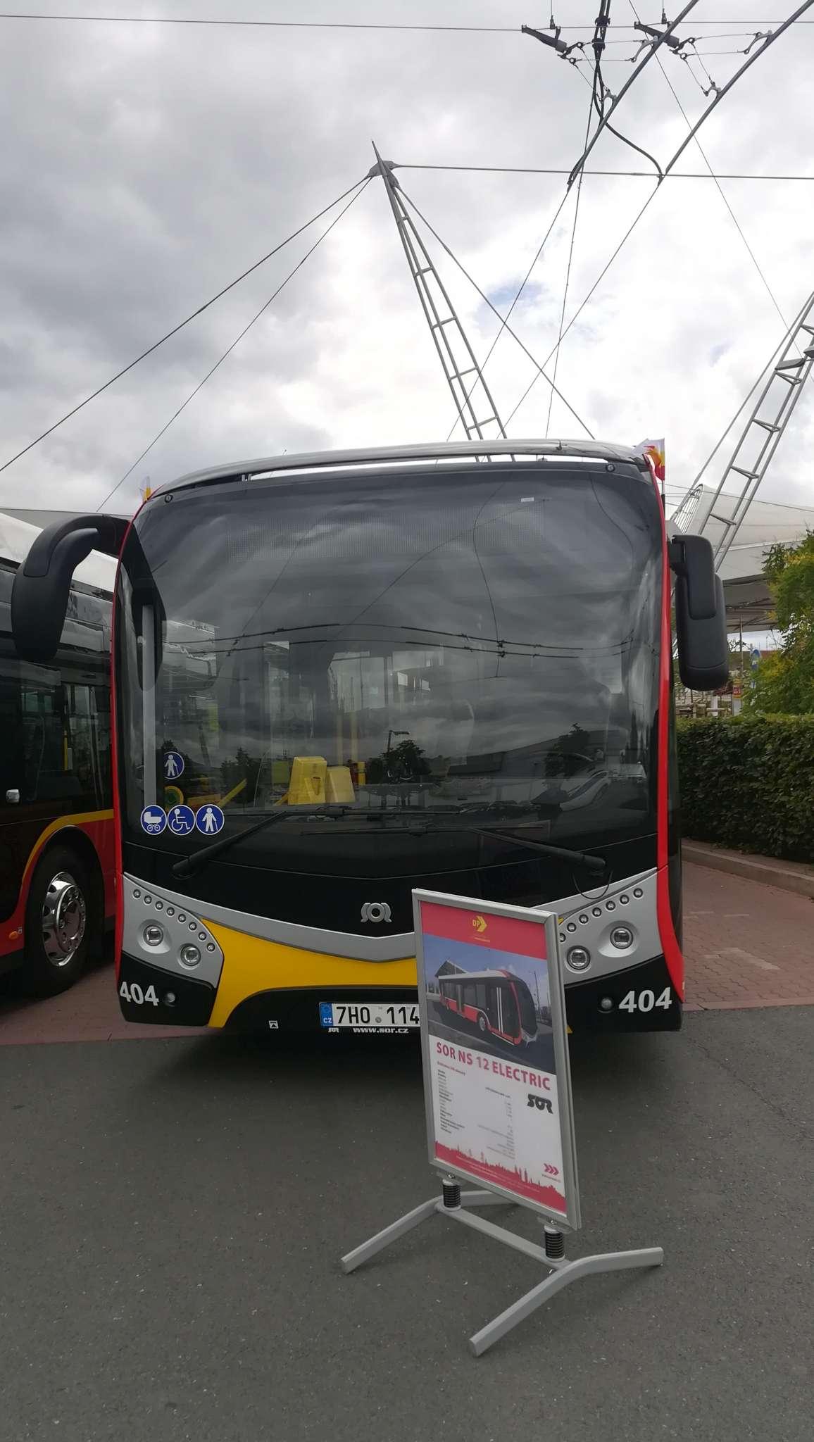 Elektrobus SOR NS 12