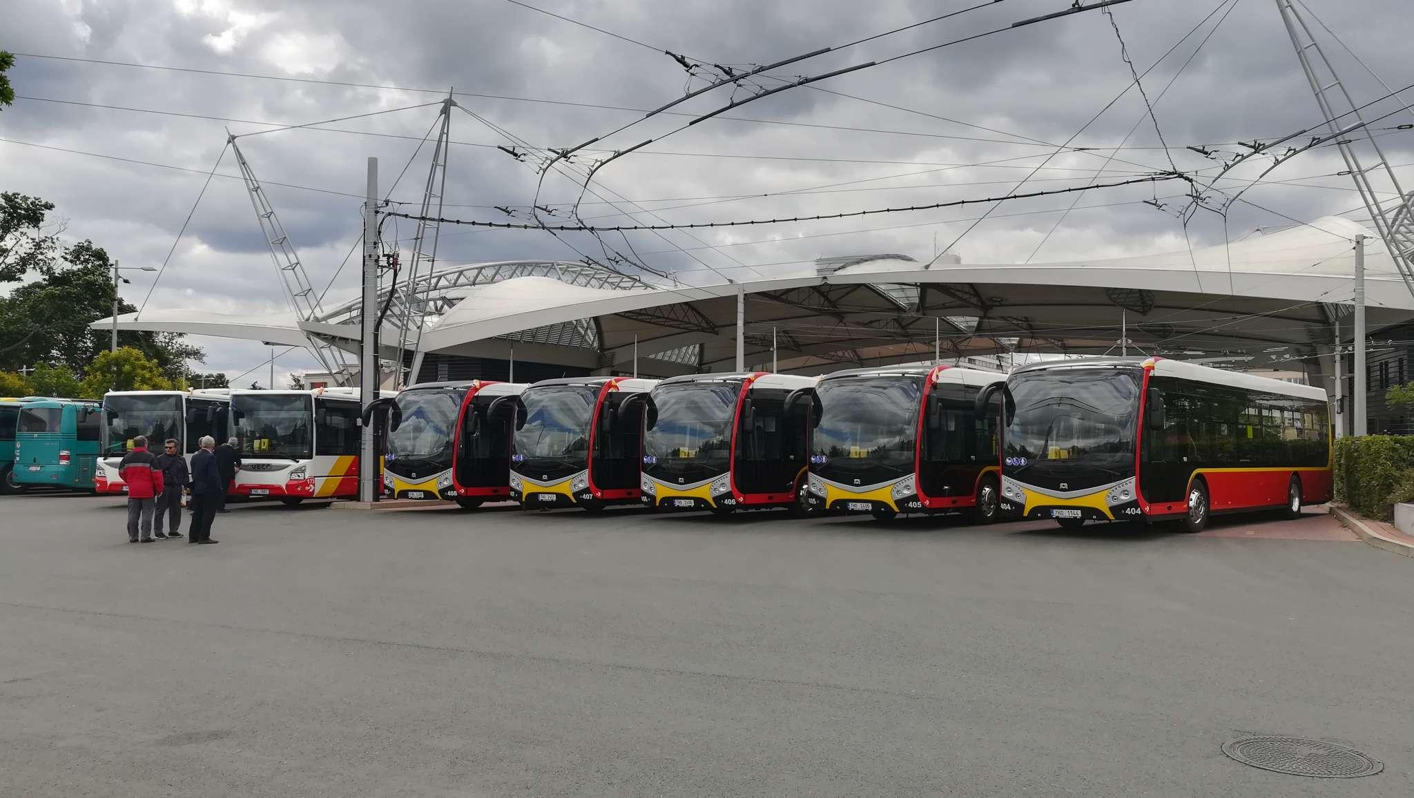 Elektrobusy SOR NS 12