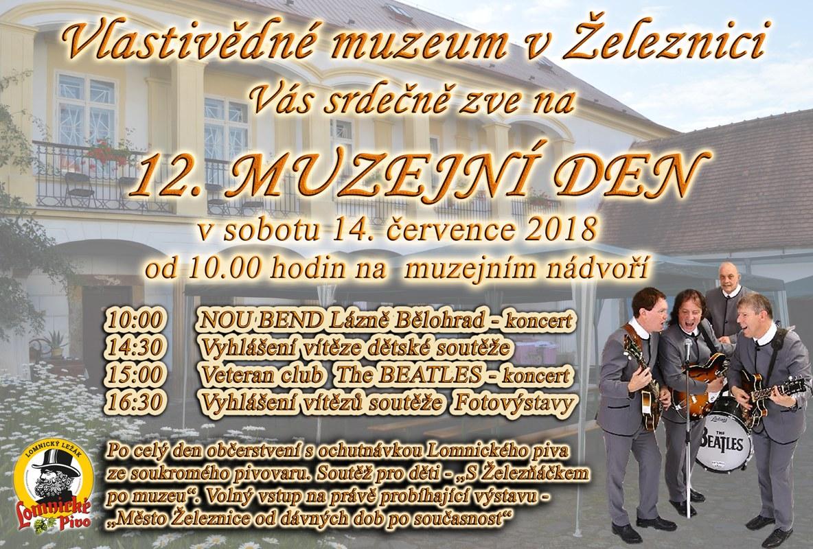 Muzejní den Železnice - pozvánka